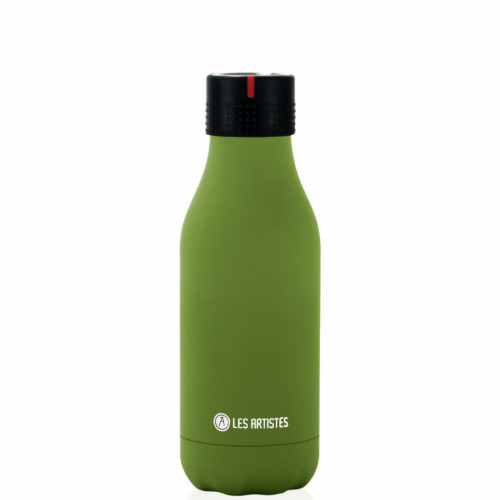 Bottle up, time up drinkfles - 280 ml - Groen