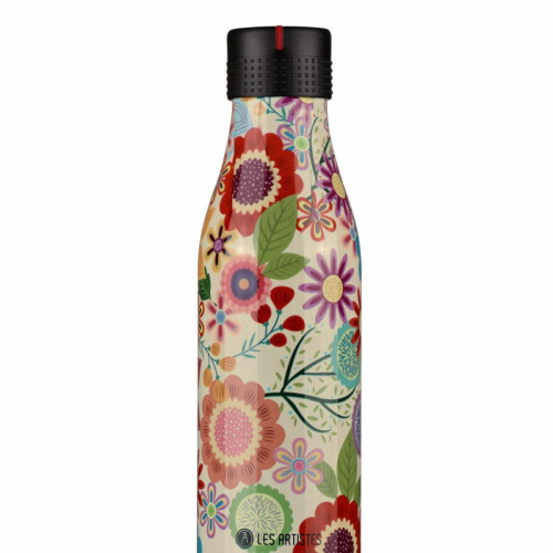 Bottle up, time up drinkfles - 500 ml - Bloemen