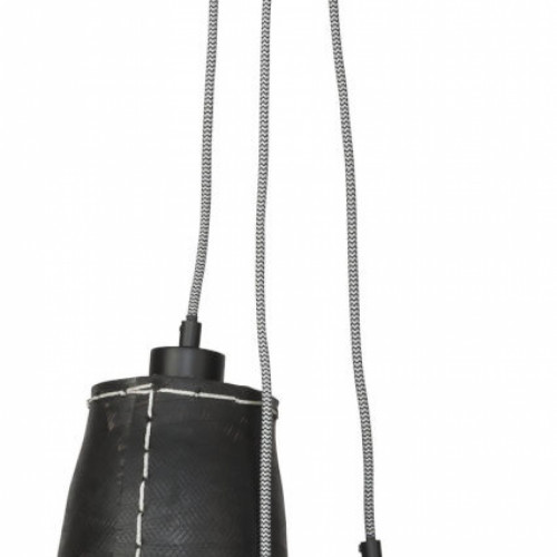 Amazon rubberen hanglamp klein - 3 kappen