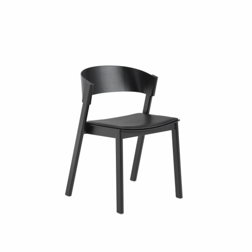 Cover side chair - Zwart
