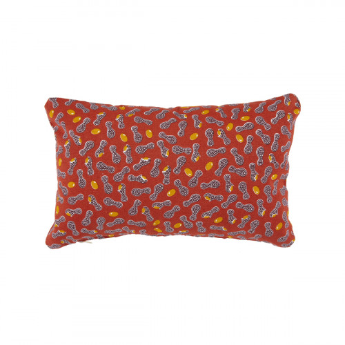Cacahuetes outdoor kussen - 44x30 cm - Ocre rouge