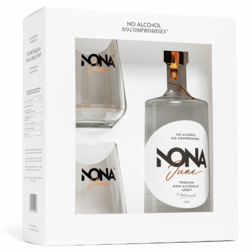 NONA June non-alcoholische drank - giftbox