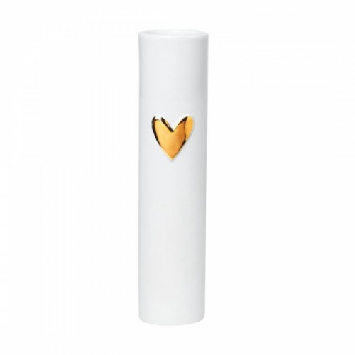 Love vase heart gold